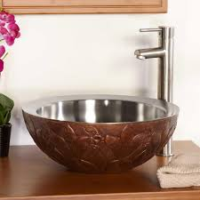 steel bathroom vessel sink signature hardware