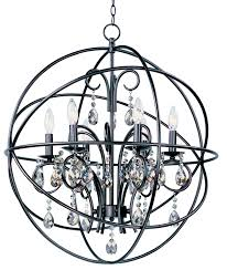 orbit 6 light pendant single pendant maxim lighting