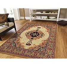 Cheap Persian Rugs For Sale Amazon Com Large 8x11 Ivory Persian Traditional Style Rug