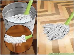 linoleum cuisine how to clean linoleum floors 9 steps with pictures wikihow