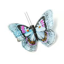 butterfly hair clip s accessories blue butterfly hair clip blingby