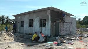 Affordable Home Building Rumah Komuniti Besut Building Affordable Homes With Aac Blocks
