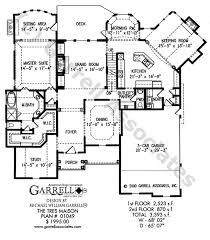 great house plans tres maison house plan house plans by garrell associates inc
