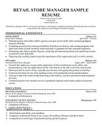 retail manager resume 2 resume retail manager resume template 2 cv retail manager