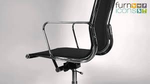 eames office chair ea 119 mesh replica youtube