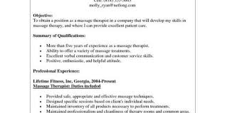 therapeutic massage therapist resume samples massage therapy