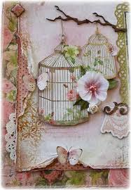 Shabby Chic Bird Cages by 139 Best Birdcages Images On Pinterest Cards Handmade Cards And