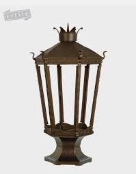 Pineapple Light Fixtures Estate Size Outdoor Gas Lights American Gas Lamp Works