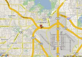grapevine map map of inn express hotel suites dfw grapevine tx grapevine
