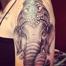 ganesha tattoo on shoulder ganesha face tattoo on shoulder tattoo designs tattoo pictures