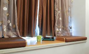 sew bay window seat cushion simple design great how to make bay