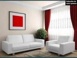 Curtains With Red Collection Of Color Red Red U0026 White Curtains Youtube