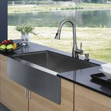 Stainless Steel Faucets Kitchen by Kitchen Modern Sinks Kitchen Ideas With Single Rectangular