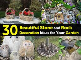 Garden With Rocks 30 Beautiful And Rock Decoration Ideas For Your Garden