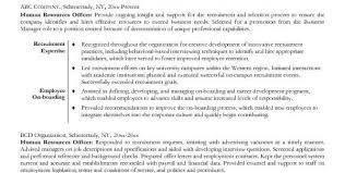 technical it recruiter resume example hr recruiter