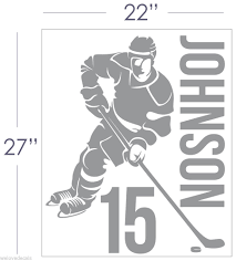 hockey wall stickers picture more detailed picture about