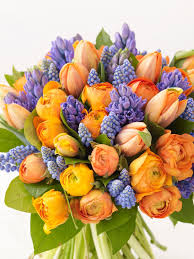 celebrate spring bouquet with a vibrant bouquet hgtv