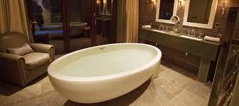 freestanding bathtub oval composite double imperia