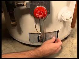 gas water heater without pilot light bonfe s how to light the pilot light on a water heater youtube