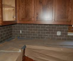 tiles backsplash dark grey countertops glass for kitchen cabinet