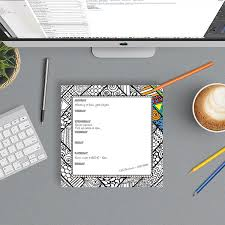 Weekly Desk Pad Color Me Weekly Desk Mouse Pad 322572407693 4 99