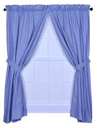 Purple Nursery Curtains by Amazon Com Logan Gingham Check Print Bathroom Shower Curtain