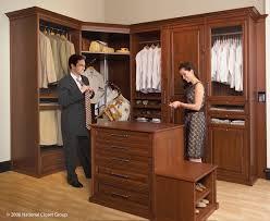 Wood Closet Shelving by Entertaining All Wood Closet Organizers Roselawnlutheran