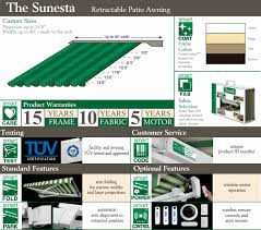 Motorized Awnings Reviews Sunsetter Vs Sunesta Comparison