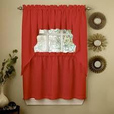 Orange Kitchen Curtains Sale Curtain Tiers Shop The Best Deals For Nov 2017 Overstock Com
