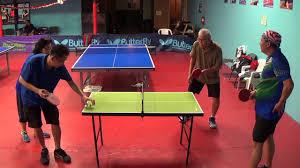 table tennis los angeles valentino carlos vs sonny kerri on minitt at los angeles table