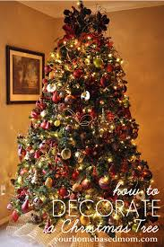 outstanding how to decorate a christmas how to decorate christmas tree tutorial decorations