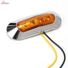 10pcs truck 10 30v led side marker lights clearance l warning
