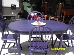 Purple Dining Room Ideas Cool White Dining Table With Purple Chairs On Dining Room Design