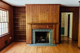 painting wood paneling color best painting