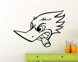 woodpecker decal etsy