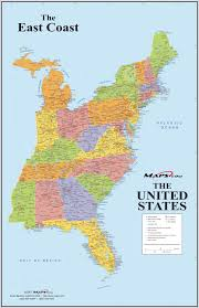 map of east coast states eastern united states domain maps by pat the free open