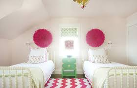 Pink And Green Bedroom - pink and green room contemporary bedroom anne hepfer designs