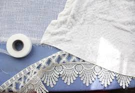 Lace Trim Curtains Lengthen Your Curtains Without Sewing A Beautiful Mess