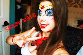 sailor moon mars makeup tutorial collab youtube