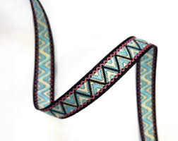 aztec ribbon aztec tribal ribbon etsy studio