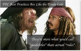 Code Meme - ppc guidelines like the pirate code meme