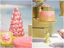 Pink And Gold Dessert Table by Blush Pink Gold Desserts Sparkly Gold U0026 Blush Christmas Dessert