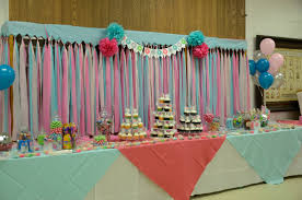 tablecloths decoration ideas ready to pop baby shower candy buffet dessert table dollar