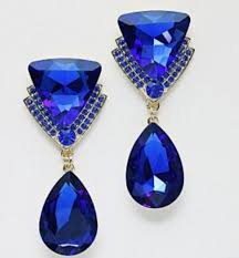 royal blue earrings 20 best blue earrings images on blue earrings royal