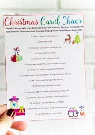 free printable christmas song lyric games 25 easy christmas party games you have to play this year