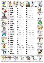 best 25 irregular verbs ideas on pinterest english verbs esl