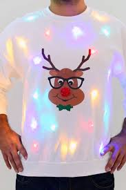 christmas tree jumper with lights is this the world s ugliest christmas jumper mirror online