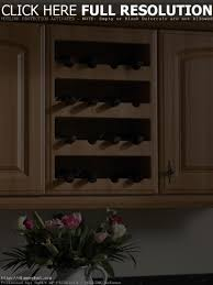 kitchen cabinet wine rack maxbremer decoration