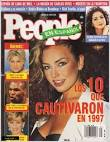 Thalía, People en Espanol Magazine December 1997 Cover Photo ...