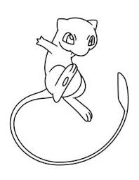 coloring pages kids animals cute characters cute pokemon